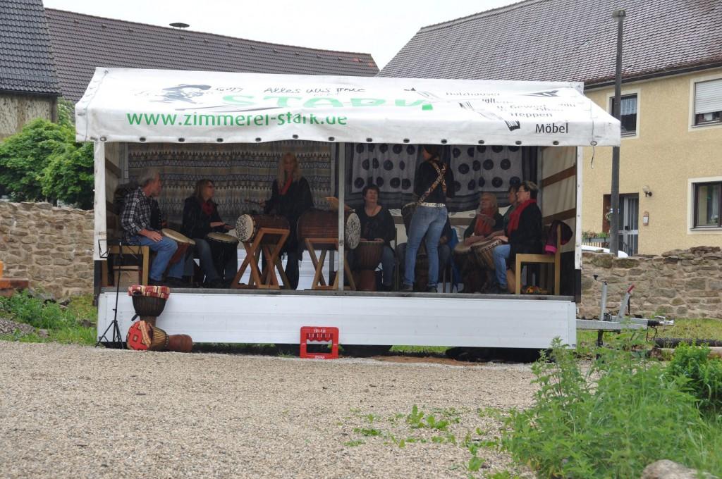 Die Trommler von Graisbach zu Gast am Steinhof