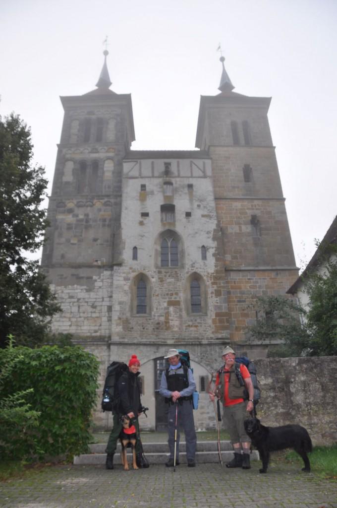 Letztes Foto vor dem Aufbruch nach Lobeda (Lobdeburg bei Jena) 2010